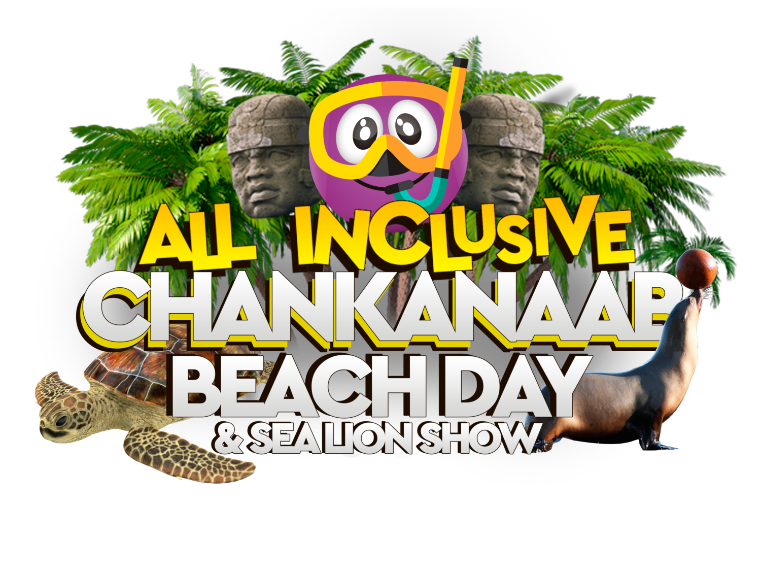 ALL INCLUSIVE CHANKANAAB BEACH DAY & SEA LION SHOW